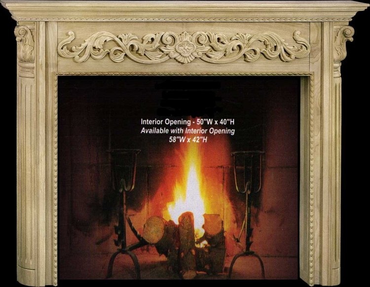 Carson Fireplace Mantel Collection-CVH Int