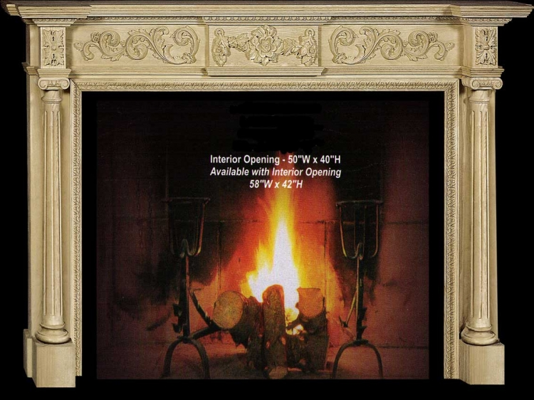 Sophia Fireplace Mantel Collection-CVH Int
