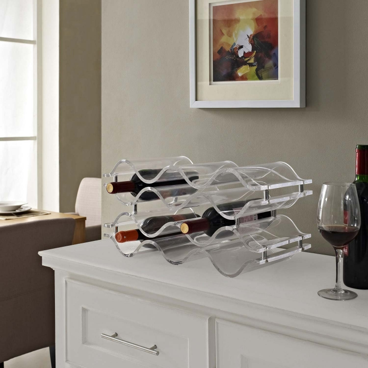 Reserve Wine Rack - Clear