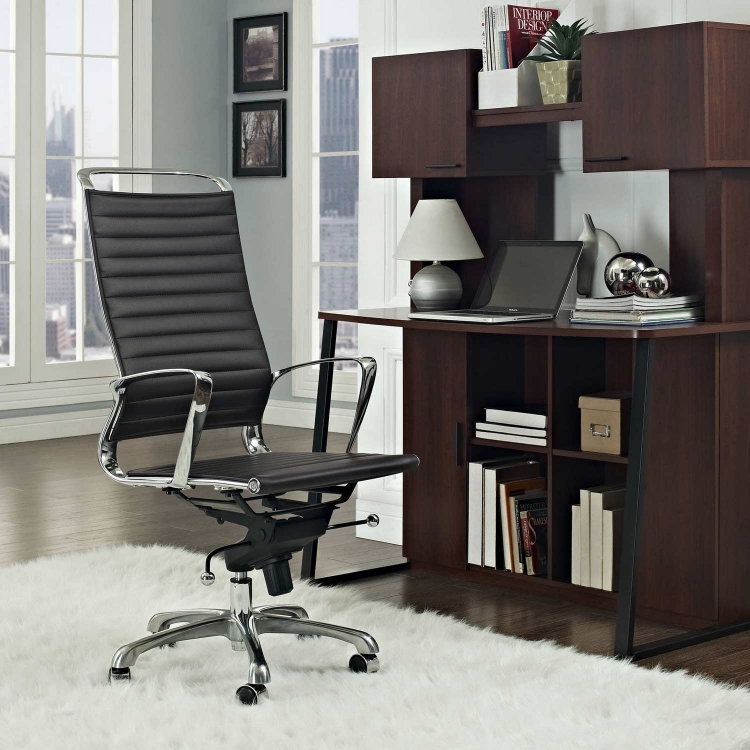 Tempo Highback Office Chair - Brown