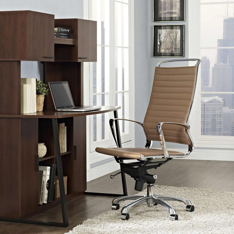 Tempo Highback Office Chair - Tan