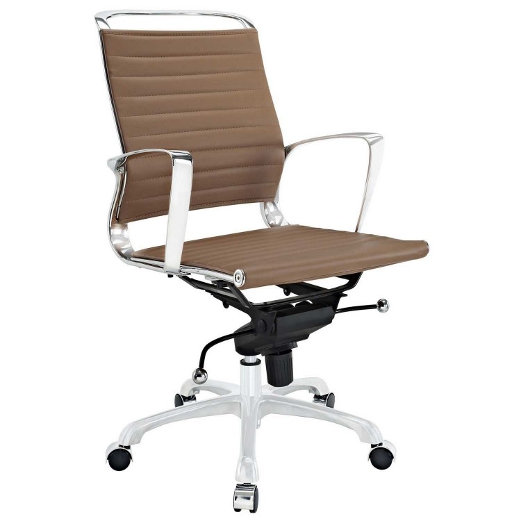 Tempo Mid Back Office Chair - Tan