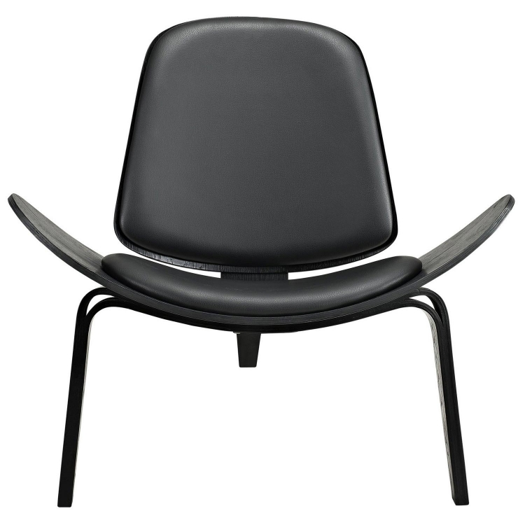Arch Lounge Chair - Black