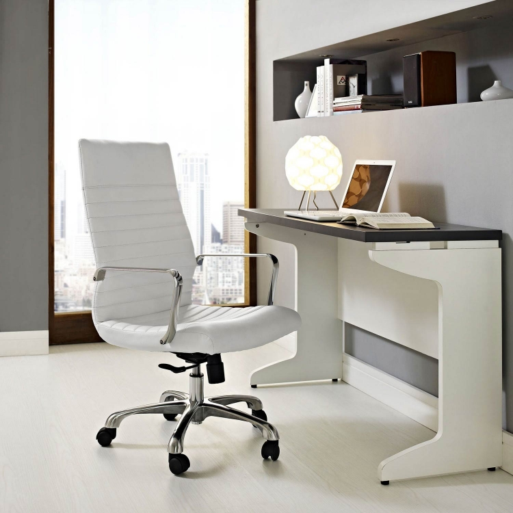 Finesse Highback Office Chair - White