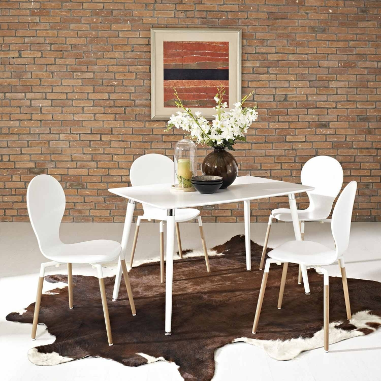 Lode Dining Table - White