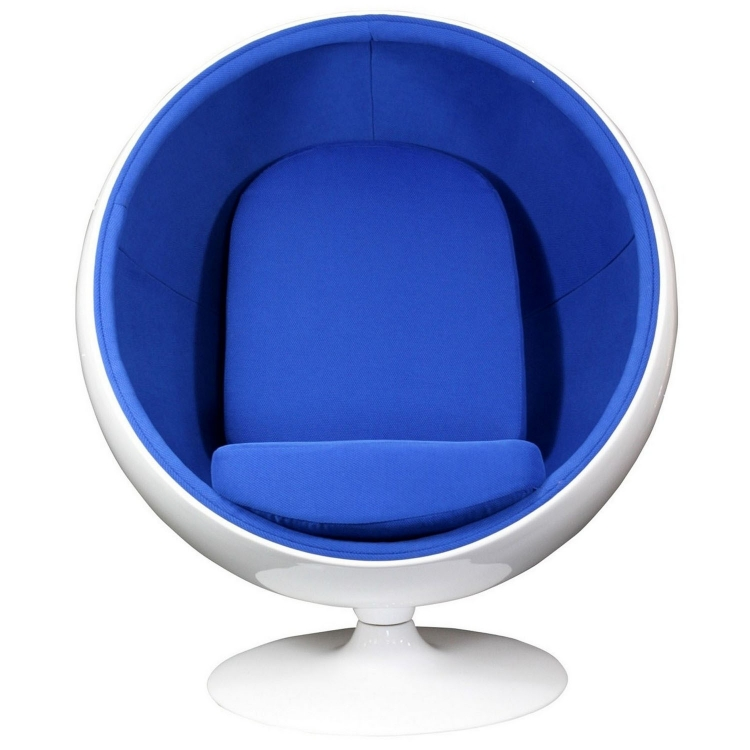 Kaddur Lounge Chair - Blue