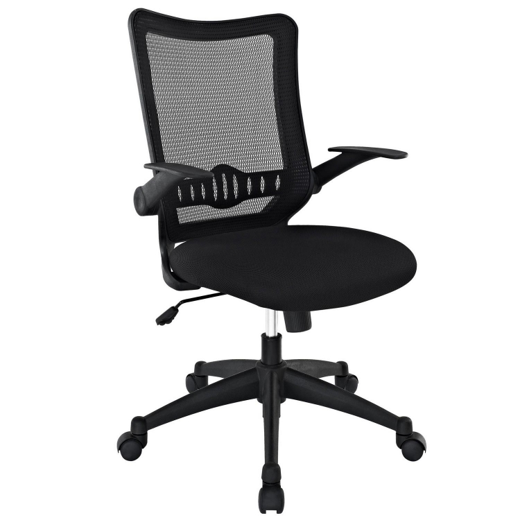 Explorer Mid Back Office Chair - Black