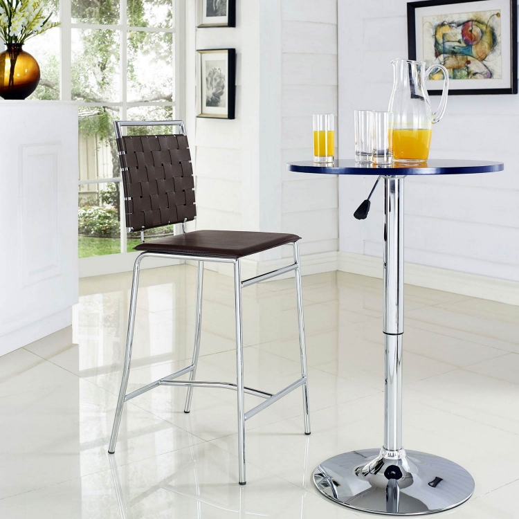 Fuse Counter Stool - Brown