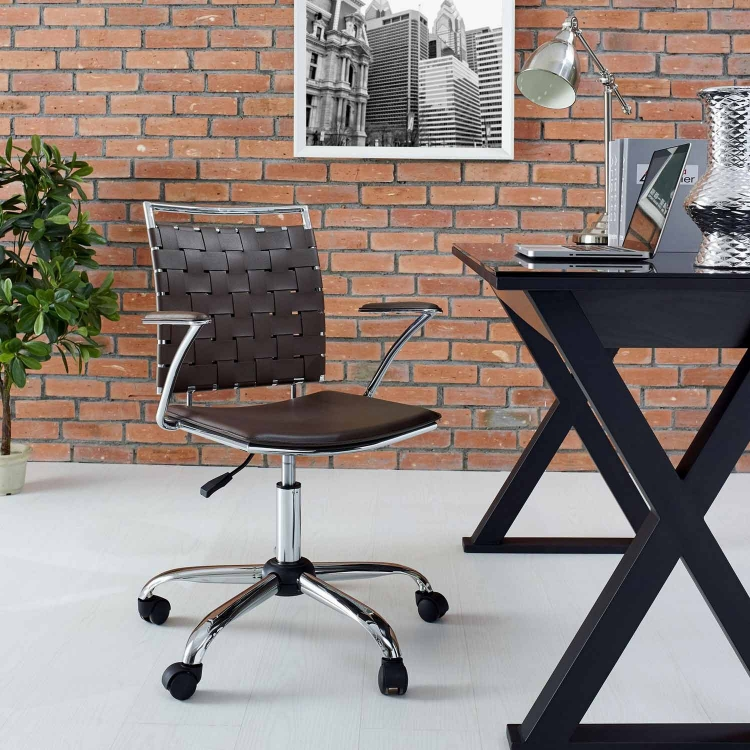 Fuse Office Chair - Brown