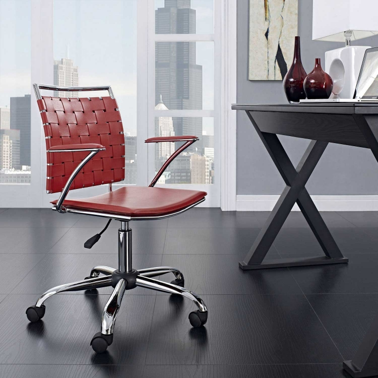 Fuse Office Chair - Red