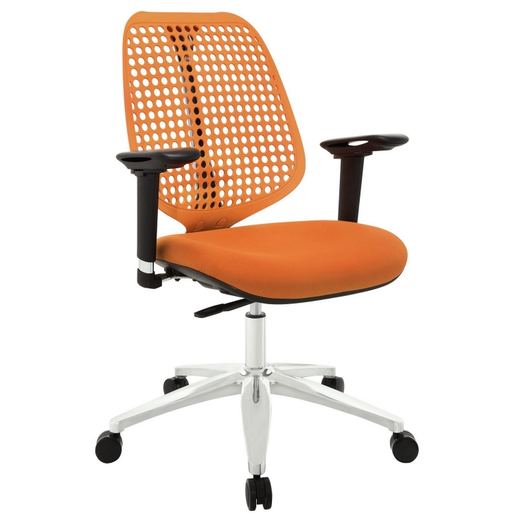 Reverb Premium Office Chair - Orange