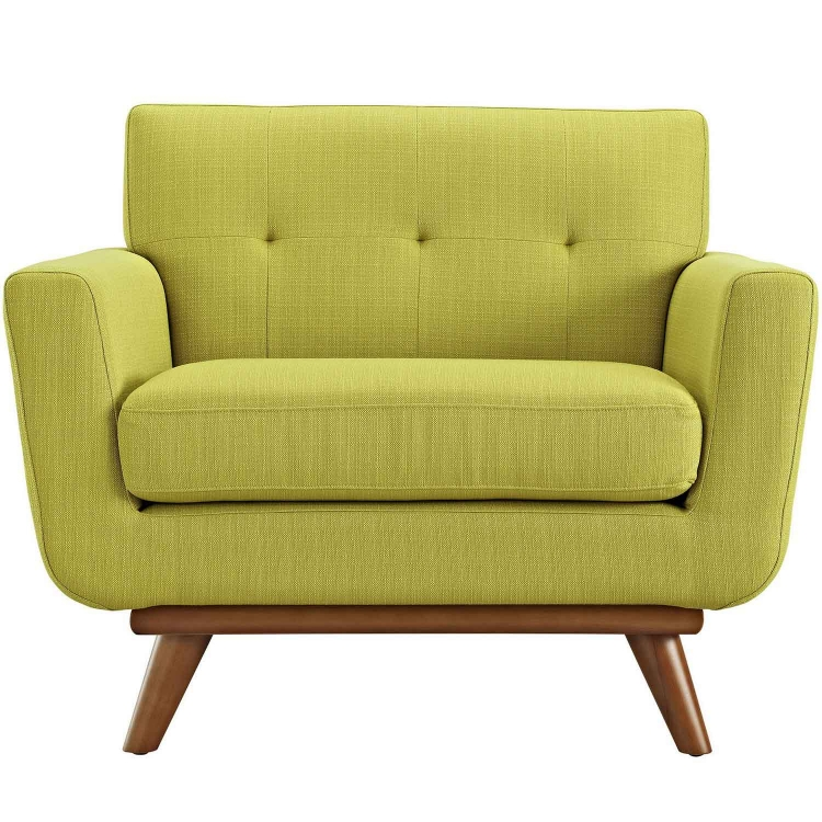 Engage Upholstered Armchair - Wheatgrass