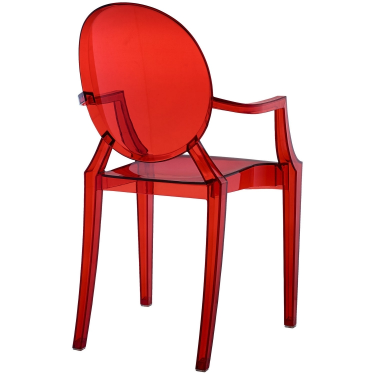 Casper Dining Armchair - Red