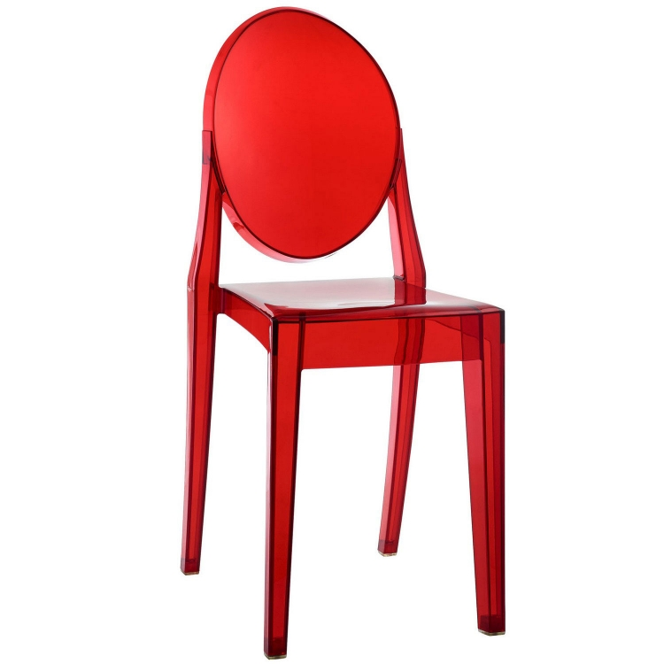 Casper Dining Side Chair - Red