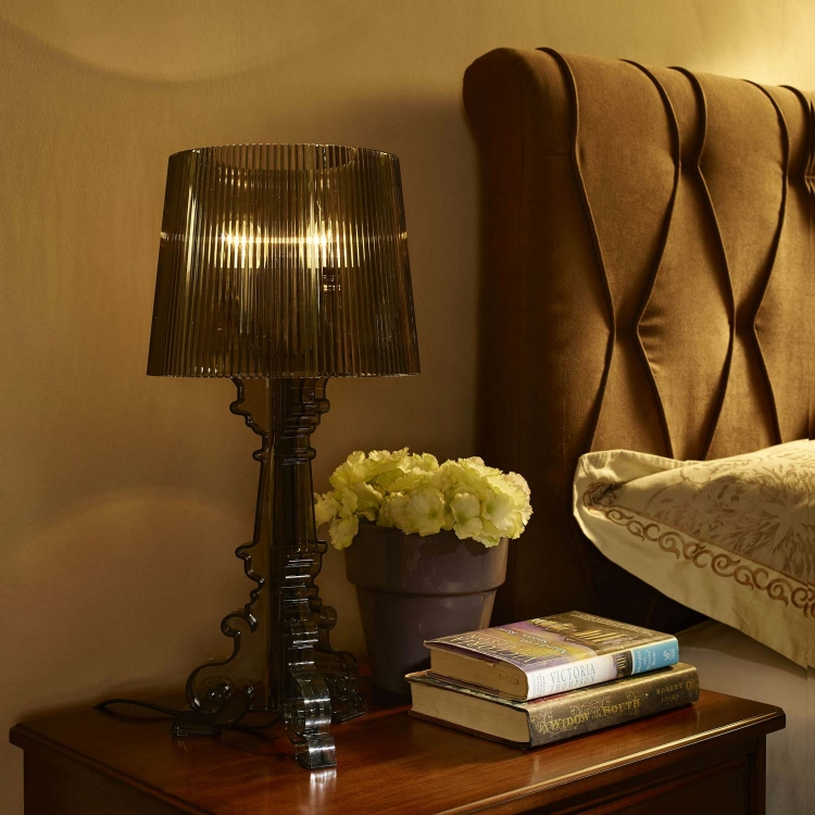 French Petit Table Lamp - Black