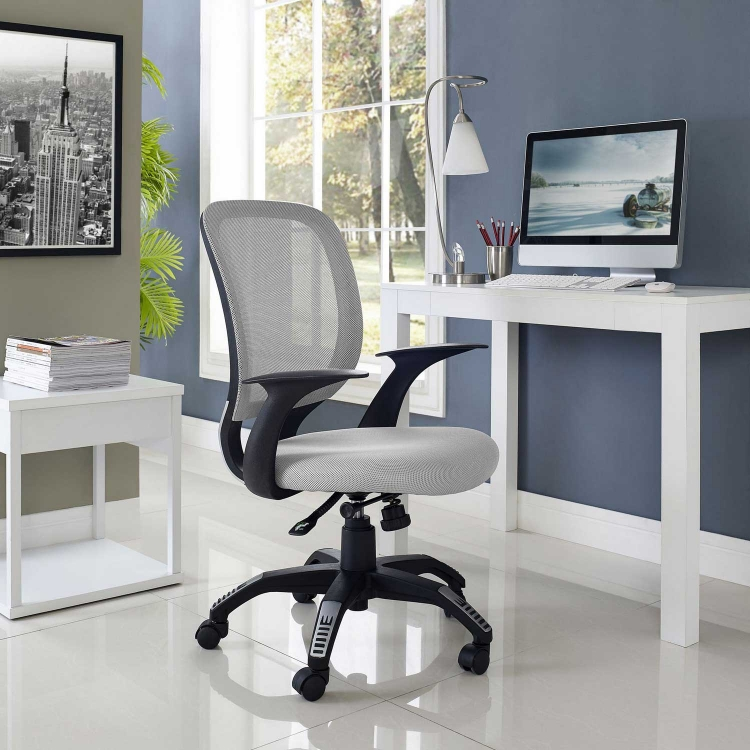 Scope Office Chair - Gray
