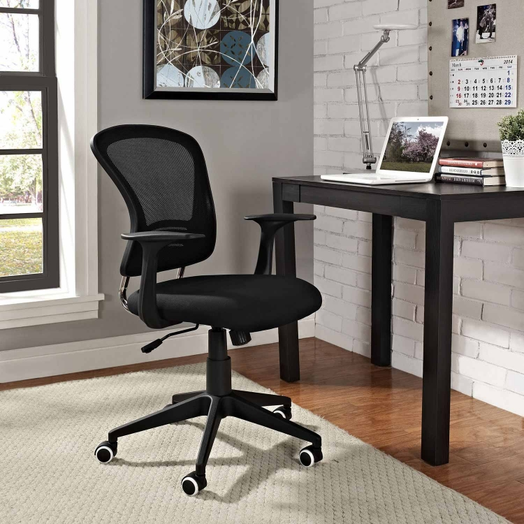 Poise Office Chair - Black