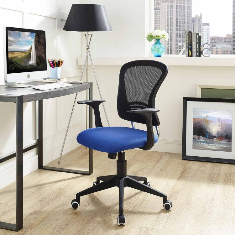 Poise Office Chair - Blue