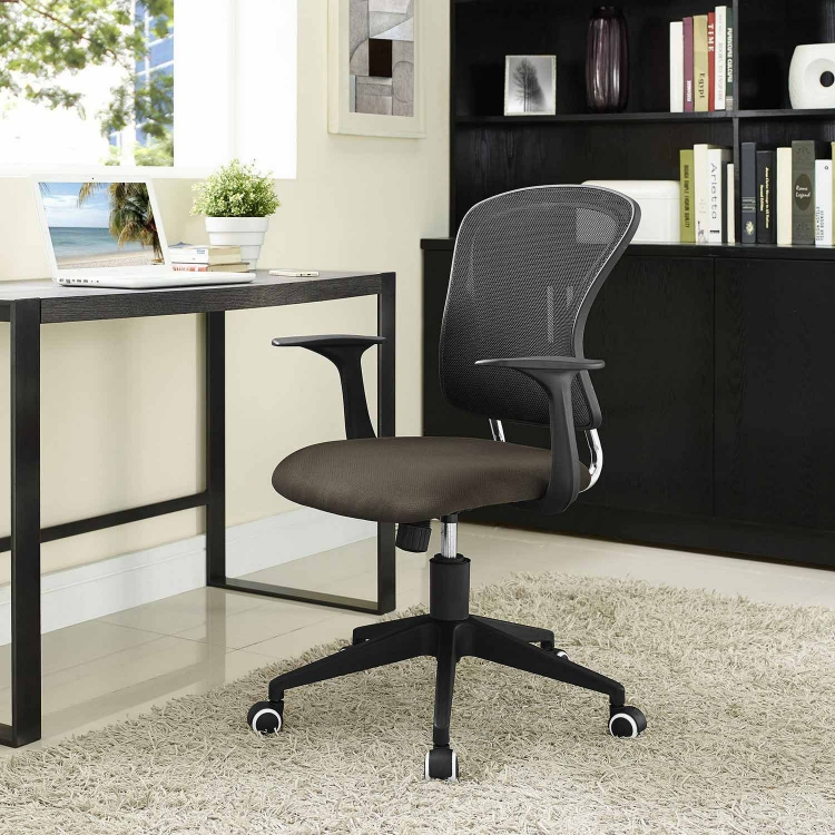 Poise Office Chair - Brown