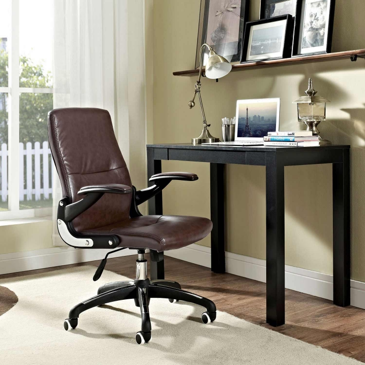 Premier Highback Office Chair - Brown