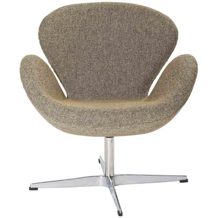 Wing Lounge Chair - Oatmeal