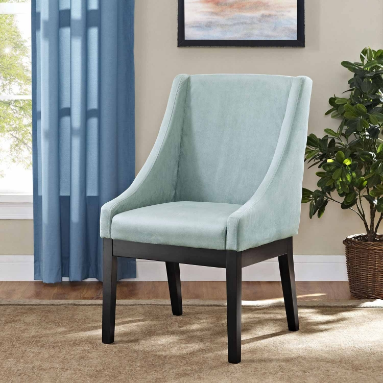 Tide Dining Wood Side Chair - Light Blue