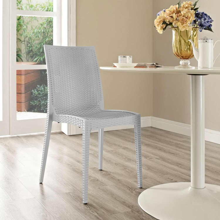 Intrepid Dining Side Chair - Gray