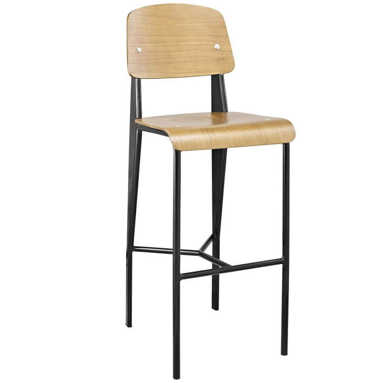 Cabin Bar Stool - Natural Black