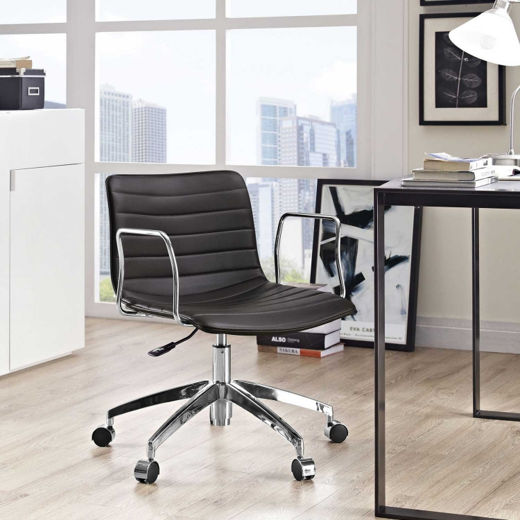 Celerity Office Chair - Brown
