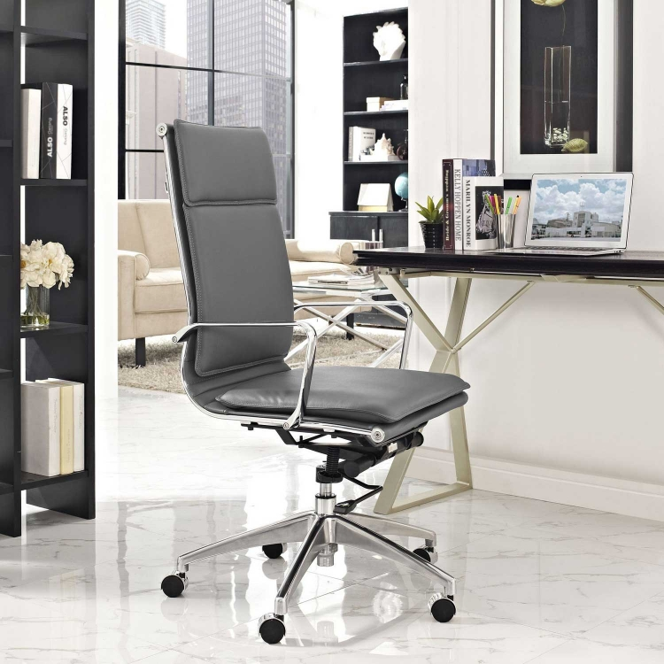 Sage Highback Office Chair - Gray
