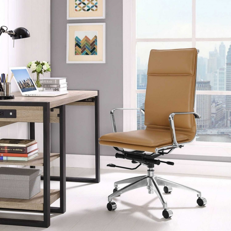 Sage Highback Office Chair - Tan