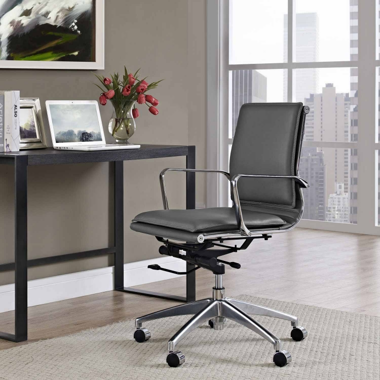 Sage Mid Back Office Chair - Gray