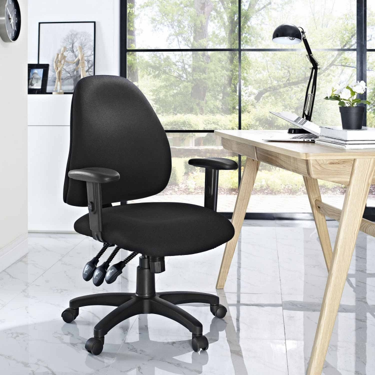 Lax Office Chair - Black