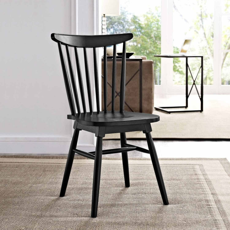 Amble Dining Side Chair - Black