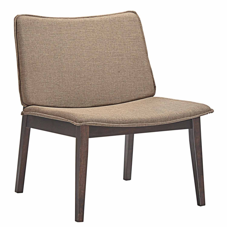 Evade Lounge Chair - Walnut Latte