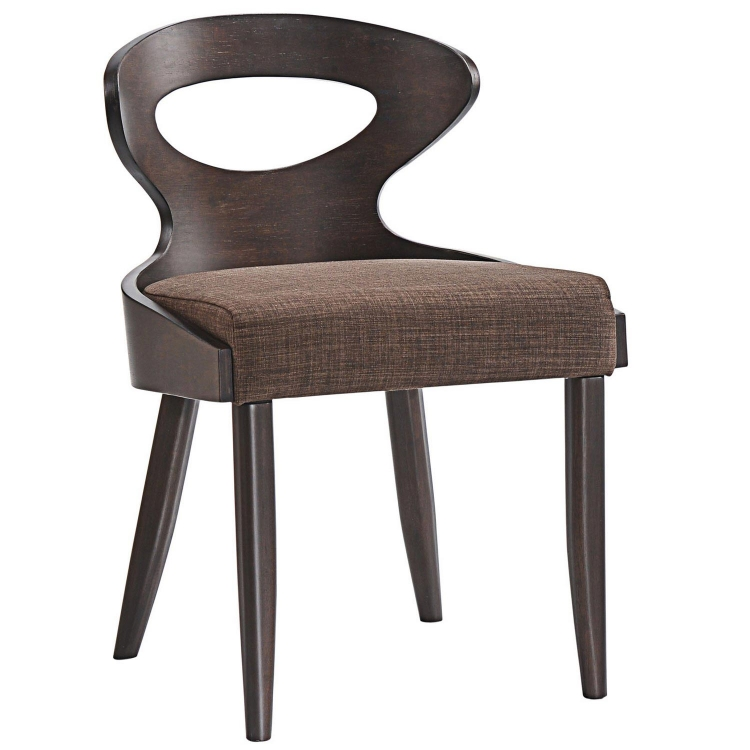 Transit Dining Side Chair - Walnut Brown