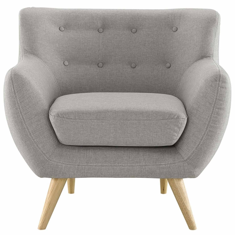 Remark Armchair - Light Gray