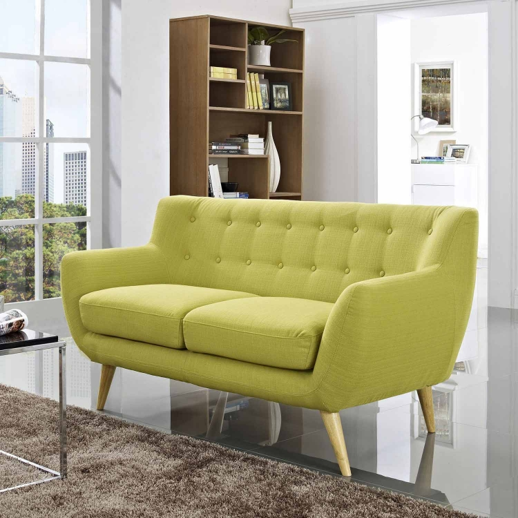 Remark Loveseat - Wheatgrass