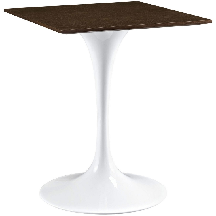 Lippa 24 Wood Top Dining Table - Walnut