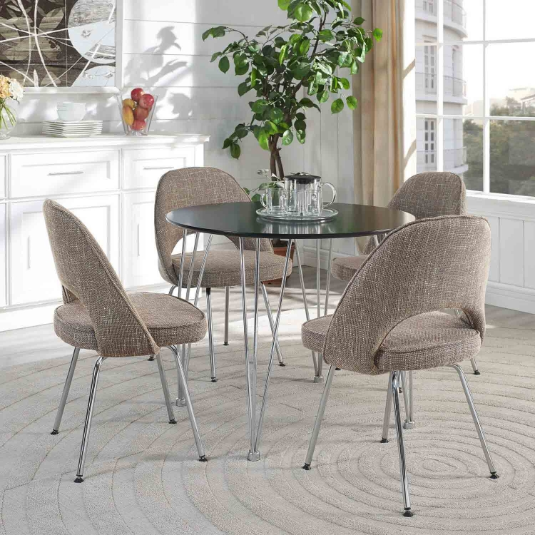 Cordelia Dining Chairs Set of 4 - Oat