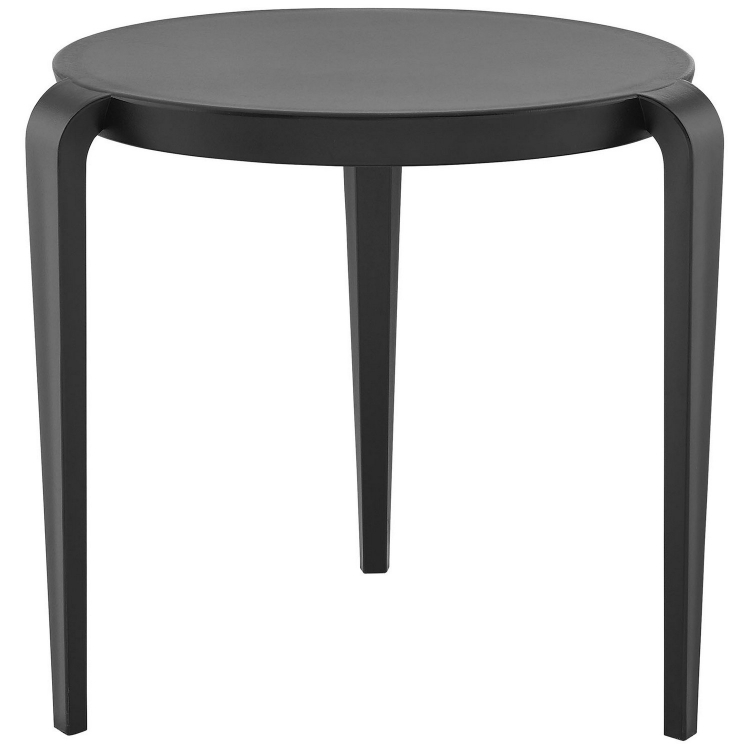 Spin Side Table - Black
