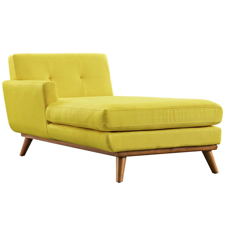 Engage Left Arm Chaise - Sunny