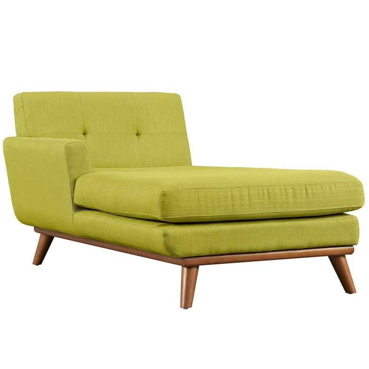 Engage Left Arm Chaise - Wheatgrass