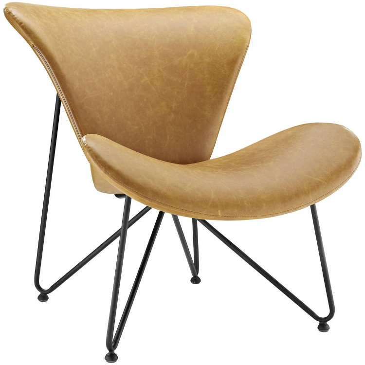 Glide Lounge Chair - Tan