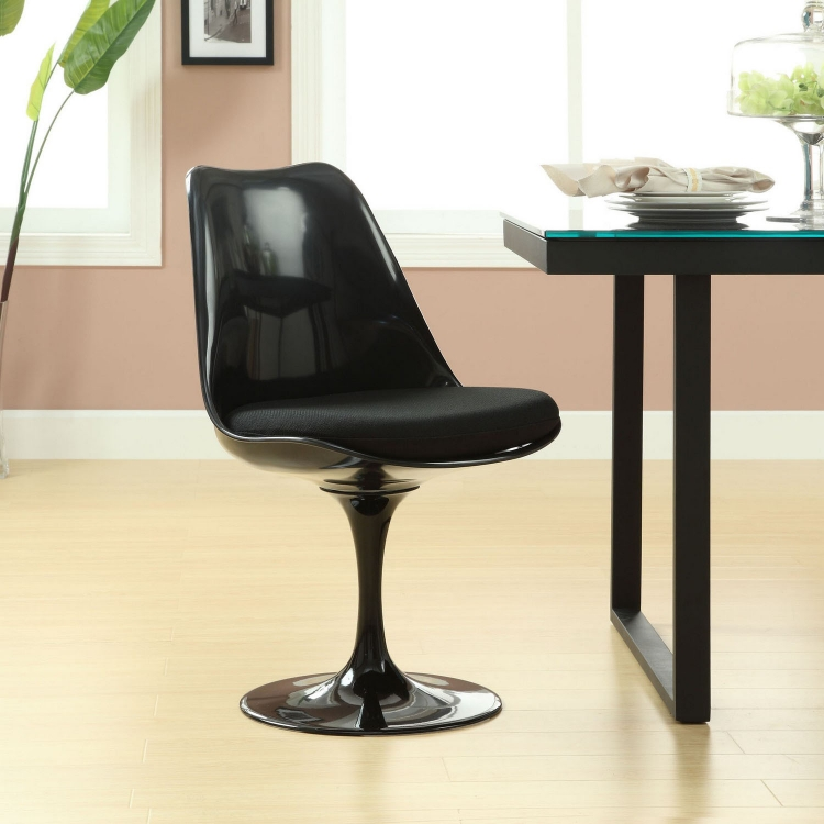 Lippa Dining Side Chair - Black