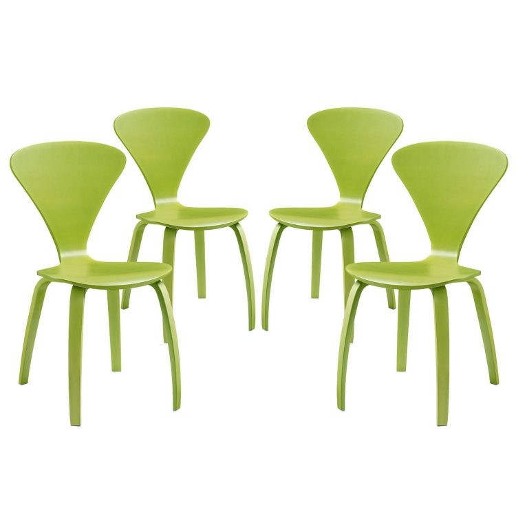 Vortex Dining Chairs Set of 4 - Green