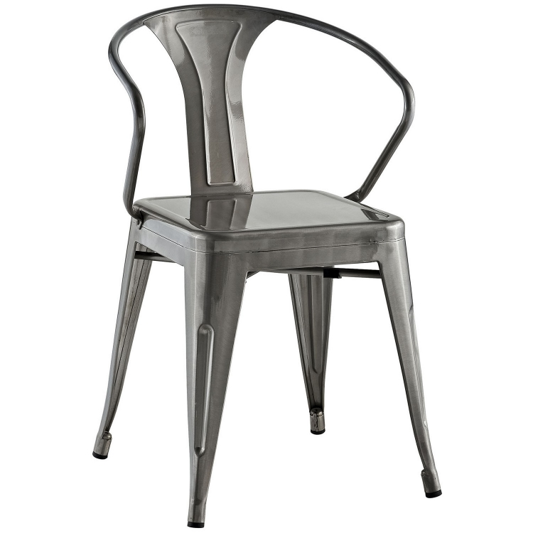 Promenade Dining Chair - GunMetal