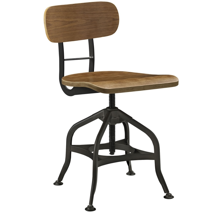 Mark Wood Bar Stool - Brown