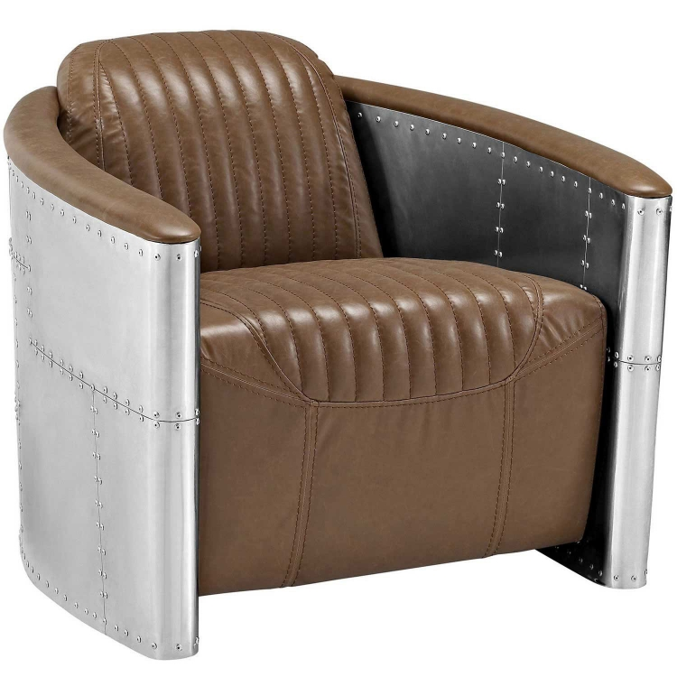 Visibility Lounge Chair - Brown