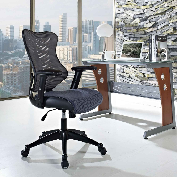 Clutch Office Chair - Gray